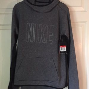 Women's Nike Therma Fit hooded sweatshirt.